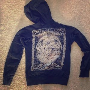 Sinful Hooded Zip Up